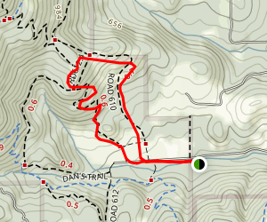Lowr Horse Trail 610 Loop Map