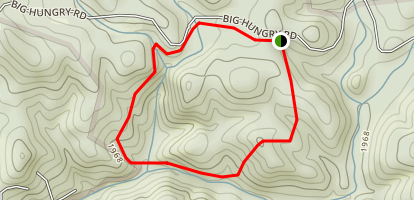 Rock Hop Trail Loop Map