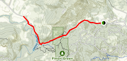 Cardwell Hill Right of Way Map