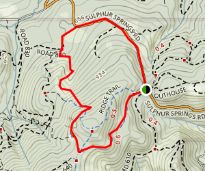 Alpha Trail Loop Map