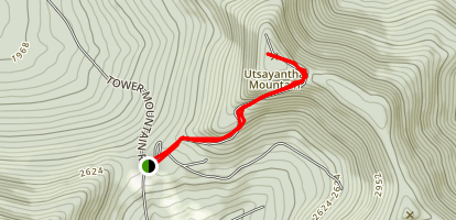 Mount Utsayantha Map