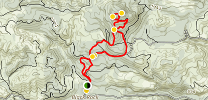 Mt. Brown Bonzai Trail Loop Map