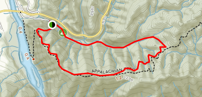 Pump Gap Loop via Appalachian Trail Map