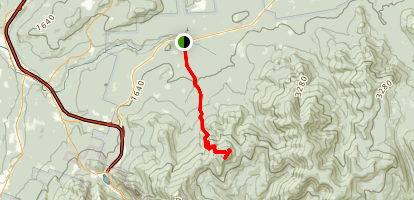 Garfield Ridge Trail Map