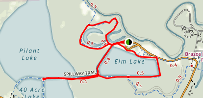 Horse Shoe Lake Loop Map