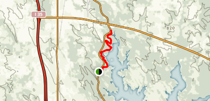 North Anadarche Trail Map