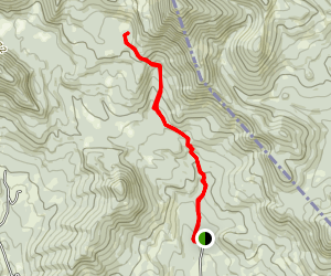 Aldous and Hancock Lakes Map
