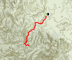 Kennedy Peak Map