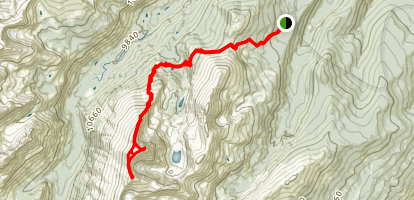 Mount of the Holy Cross Trail Map