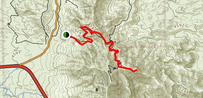 Indian Peak Trail Map