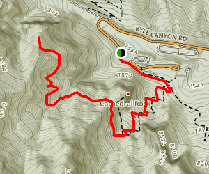 Trail Canyon Overlook Map