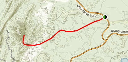 Great Scrambling Route to Lava Butte Map