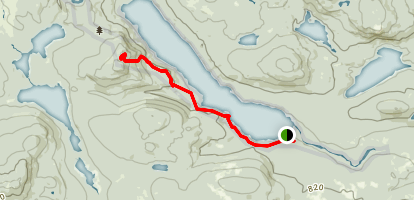Nahmakanta Lake to Nesuntabunt Mountain Map