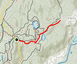 Ramapo Overlook to Lake Todd and Waterfall Trail Map