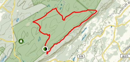 Stokes Forest Loop Trail Map