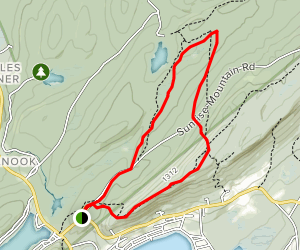 Normanook Tower via Appalachian Trail Loop Map