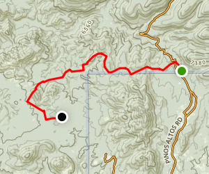 Continental Divide Trail Segment 7 (Shuttle Hike) Map