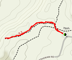 Valley View Overlook Trail Map