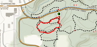 Valley Stream Trail Map