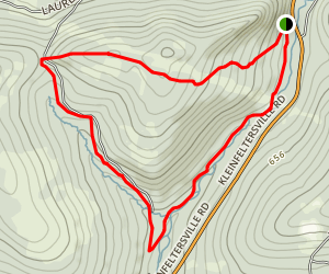 Middle Creek Elders Run Trail Map