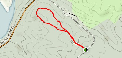 Blue Jacket Loop Trail Map