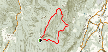 Saddle Ball Mountain Map