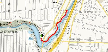 Glens Trail Map