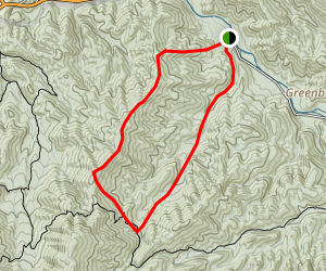 Injun Creek Loop Trail Map