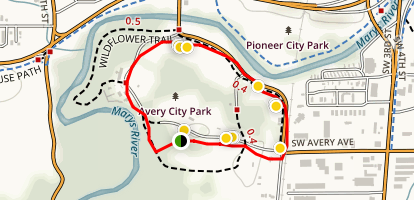 Avery Park Loop Map