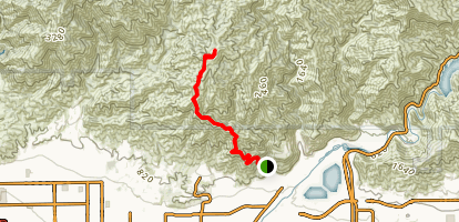 Mt. Bliss: Van Tassel Trail Map