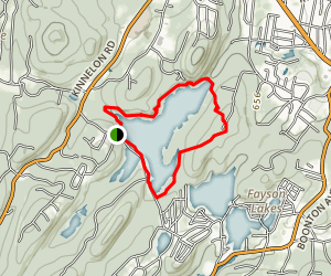 Kakeout Reservoir Map