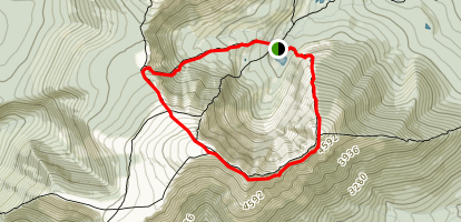 Katahdin, Dudley - Knife Edge - Saddle Map