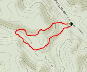 Cull Hollow Trail Map