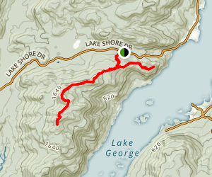 Five Mile Mountain Trail Map