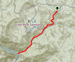Green River Narrows Map