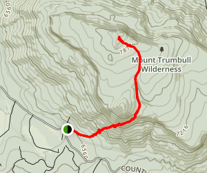Mount Trumbull Trail Map