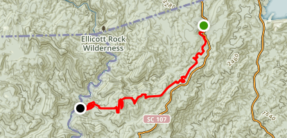 Foothills Trail - A9 to A11 Map