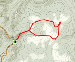Wolfpen Gap Trail Map