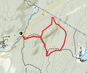 Ringwood State Park Cupsaw Brook Loop Map