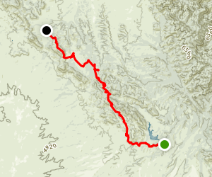 Arizona Trail: Passage 2 - Canelo Hills East Map