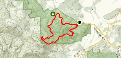 300, 112, 131, Scout Trail, 200, and 320 Trails Loop Map