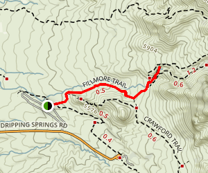 Fillmore Canyon Trail Map