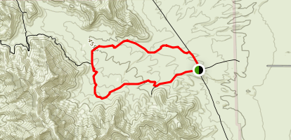 FMSP - Hitt Canyon Loop Trail (CONTROLLED ENTRY) Map