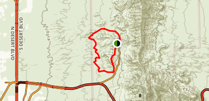 The Sunset Loop Trail Map