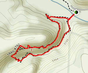 Gila Cliff Dwellings Trail Map