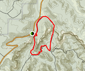 Sheep Creek - Swamp Canyon Loop Map
