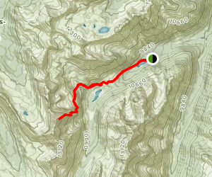 North Maroon Peak Map