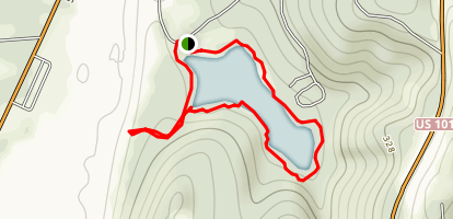 Lake Marie Trail Map
