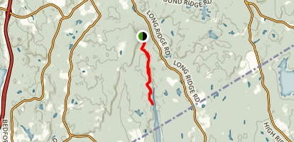 Mianus River Gorge Preserve Trail Map