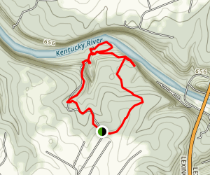 Kentucky River Palisades Trail Map